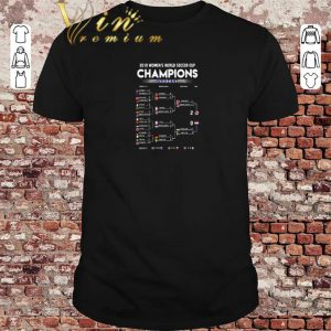 Original List 2019 Women's World Soccer Cup Champions United States shirt sweater 2019