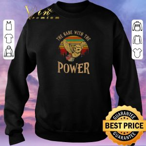 Original Vintage Owl the babe with the Power shirt 2