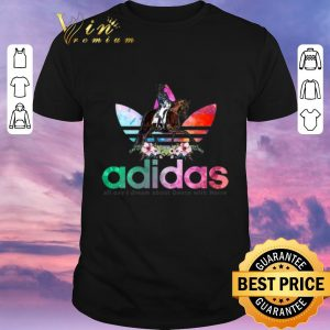 Premium Flower adidas all day I dream about dance with horse shirt sweater