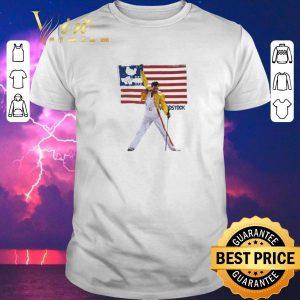Premium Freddie Mercury American flag Woodstock shirt sweater