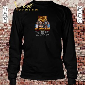 Premium Lynyrd Skynyrd 55th anniversary 1964-2019 signatures shirt sweater 2019 1