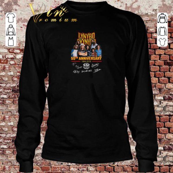 Premium Lynyrd Skynyrd 55th anniversary 1964-2019 signatures shirt sweater 2019