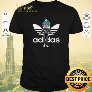 Pretty Adidas Vegeta Super Saiyan Blue shirt sweater