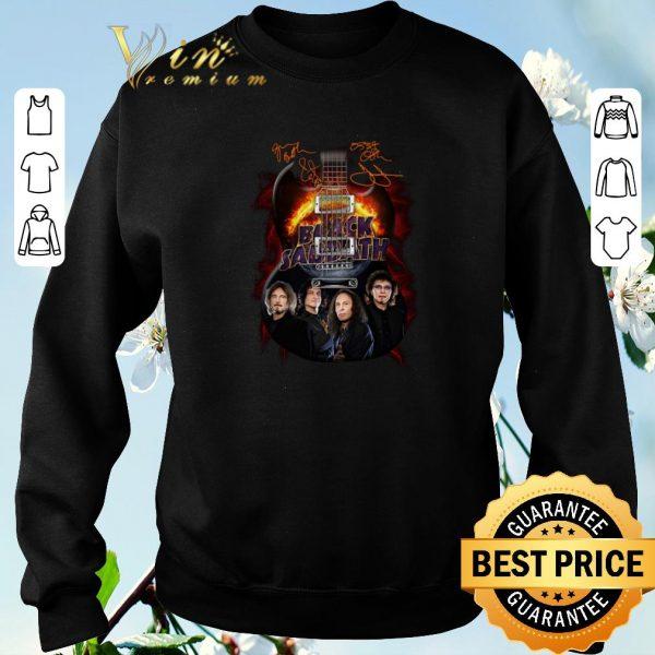 Pretty Signatures Black Sabbath guitarist shirt