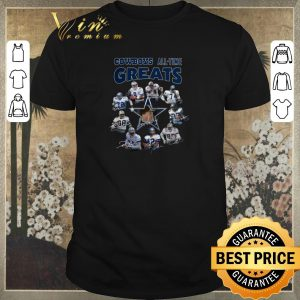 Pretty Signatures Dallas Cowboys all-time greats shirt