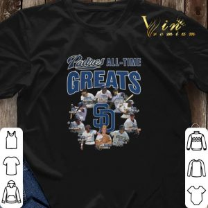 Signatures San Diego Padres all time greats shirt 2