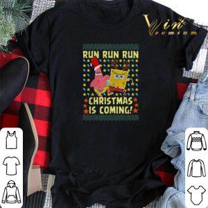 Spongebob Patrick Star Christmas is coming shirt sweater