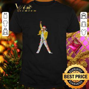 Top Freddie Mercury Christmas lights shirt