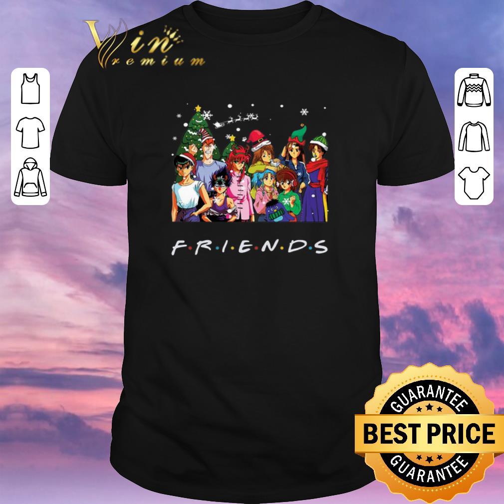 Top Friends Yu Yu Hakusho Christmas shirt sweater, hoodie ...