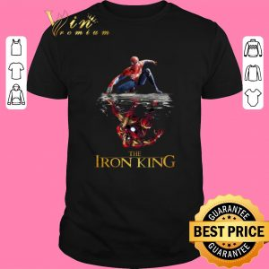 Top Spider Man reflection Iron Man The Iron King shirt sweater 2019