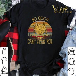 Vintage Labyrinth Door Knockers no good can't hear you shirt