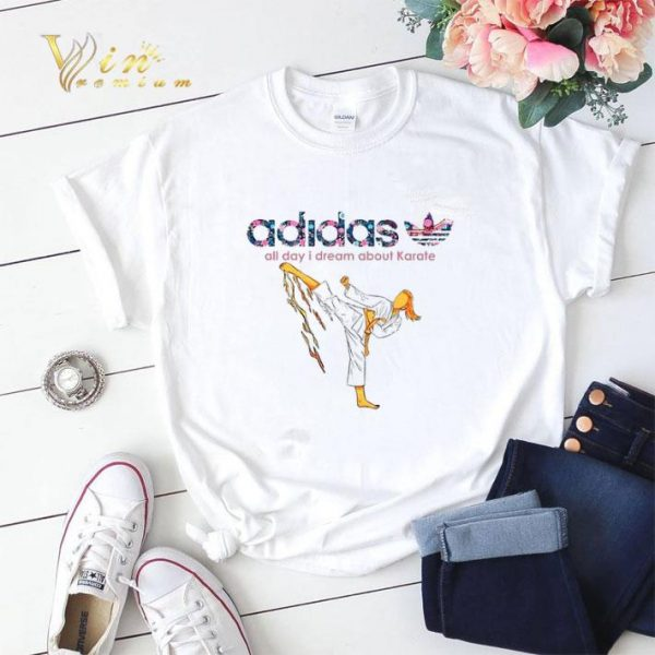 adidas all day i dream about Karate shirt sweater