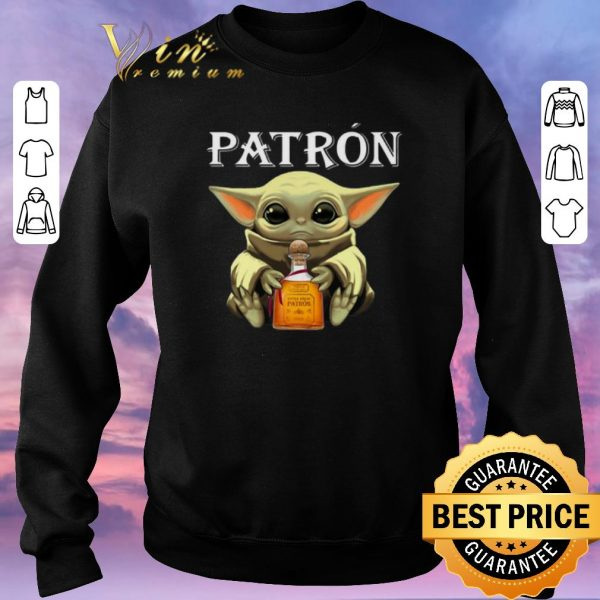 Awesome Baby Groot hug Patron Tequila shirt sweater