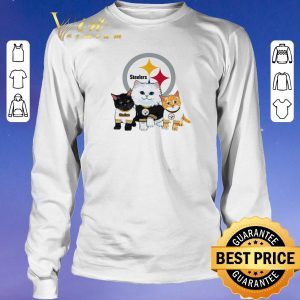 Awesome Cats Pittsburgh Steelers shirt sweater 2