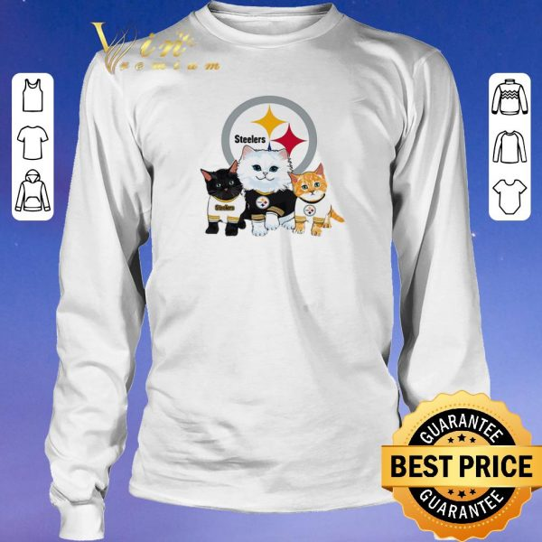 Awesome Cats Pittsburgh Steelers shirt sweater