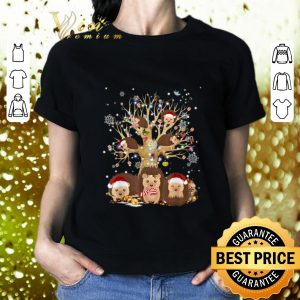 Awesome Hedgehogs Santa Christmas Tree Ornament shirt