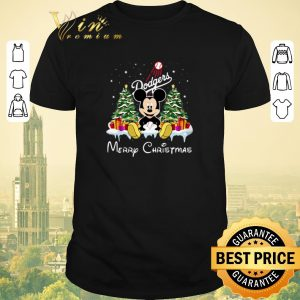 Awesome Merry Christmas Mickey Los Angeles Dodgers shirt