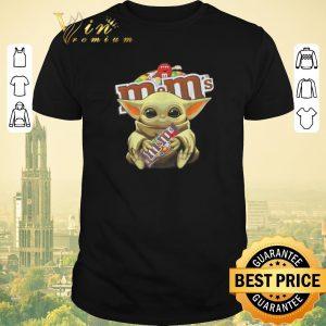 Awesome Star Wars Baby Yoda hug M&M's Mandalorian shirt sweater