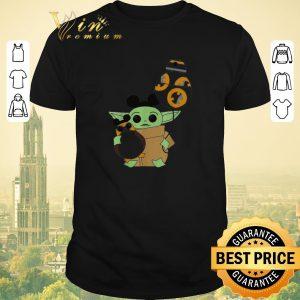 Awesome Star Wars Mickey Baby Yoda hug BB-8 balloon shirt sweater