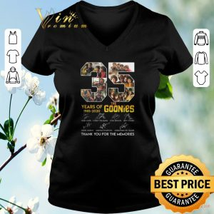 Awesome Thank you for the memories 35 years of 1985-2020 The Goonies shirt