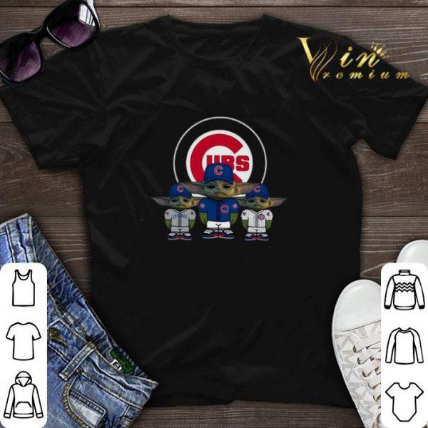 Baby Yoda Chicago Cubs shirt sweater