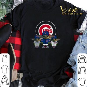Baby Yoda Chicago Cubs shirt sweater