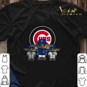 Baby Yoda Chicago Cubs shirt sweater 2