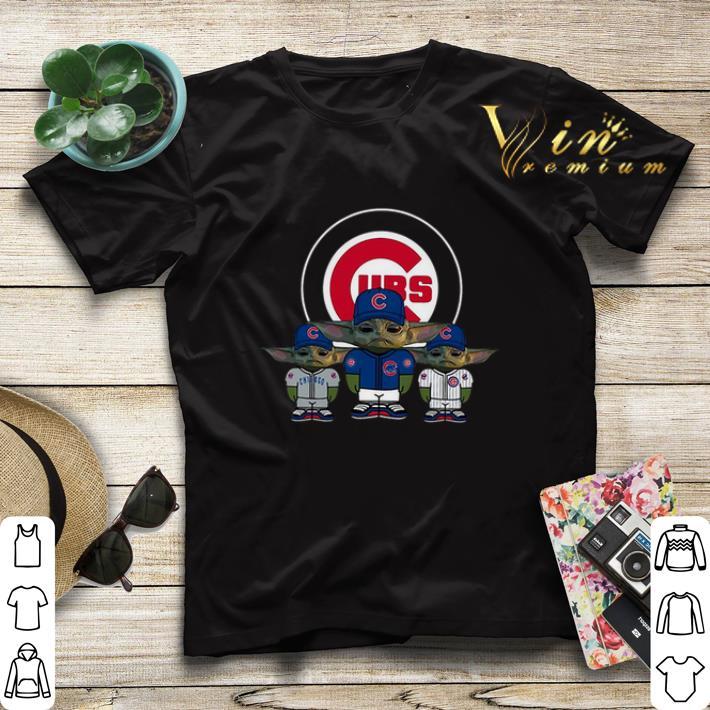 Baby Yoda Chicago Cubs shirt sweater 4 - Baby Yoda Chicago Cubs shirt sweater
