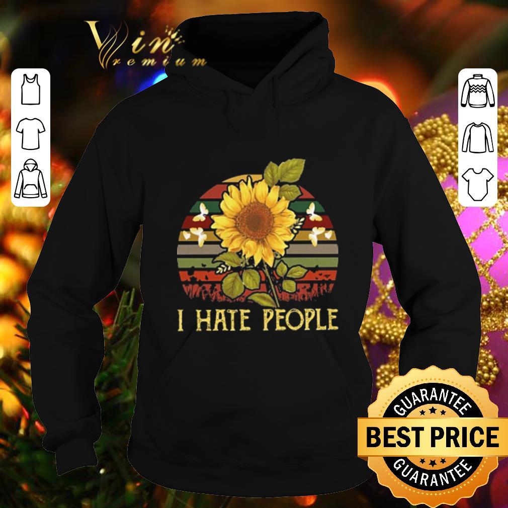 Best I hate people sunflower sunset vintage shirt 4 - Best I hate people sunflower sunset vintage shirt