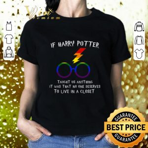 Best LGBT If Harry Potter taught us anything it was that no one shirt