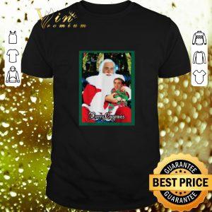 Best Santa Knee Nicolas Cage Merry Cagemas Christmas shirt
