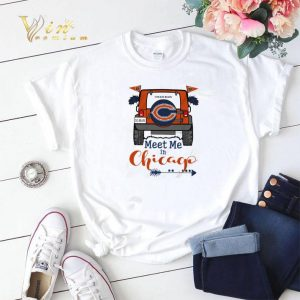 Chicago Bears Go Bears meet me in Chicago Car shirt sweater