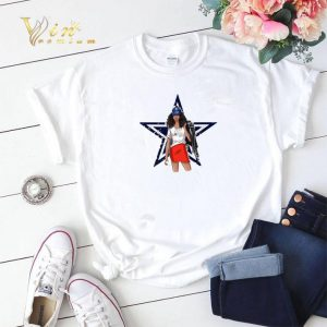Dallas Cowboys girl fan shirt sweater