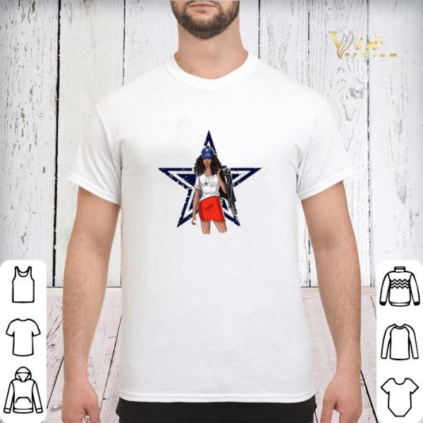 Dallas Cowboys girl fan shirt sweater