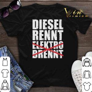 Diesel Rennt Elektro Brennt Herren shirt sweater