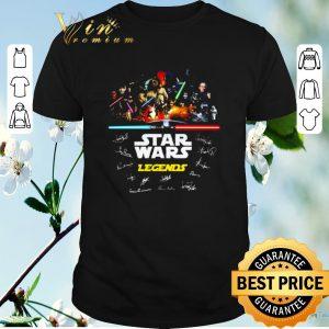 Funny Signature Star Wars Legends all shirt