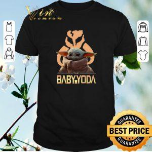 Funny The Baby Yoda Star Wars Mandalorian Symbol Logo shirt sweater