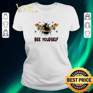 Hot Autism Flower Bee Yourself Autism Awareness shirt sweater
