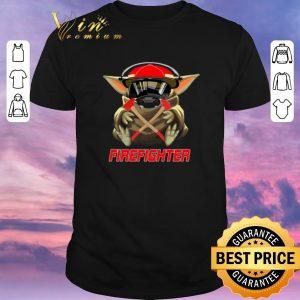 Hot Baby Yoda Mashup Firefighter Star Wars shirt sweater