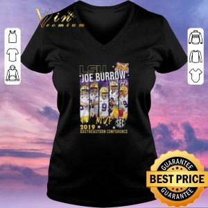 Hot Lsu Joe Burrow MVp 2019 southeastern Conference shirt sweater 1