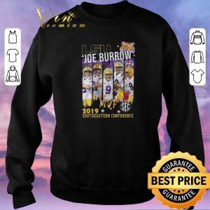 Hot Lsu Joe Burrow MVp 2019 southeastern Conference shirt sweater 2