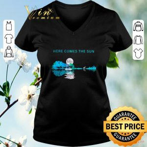 Hot Moon The Beatles here comes the sun guitar lake shirt sweater