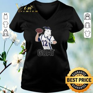 Hot New England Patriots Tom Brady GOAT 12 shirt