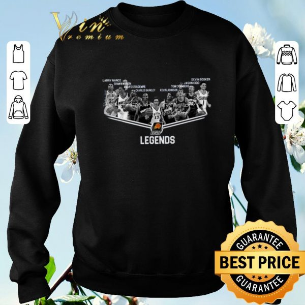 Hot Phoenix Suns Legends NBA all signature autographed shirt sweater