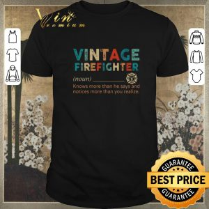 Hot Vintage Firefighter definition knows more than he says notices shirt sweater