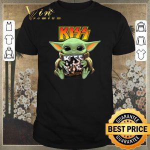 Nice Baby Yoda hug Kiss Star Wars Mandalorian shirt sweater