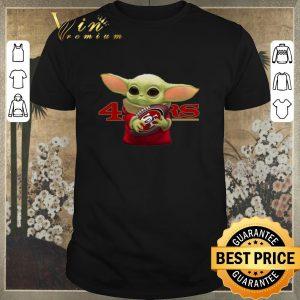 Official Baby Yoda hug San Francisco 49ers shirt sweater