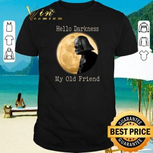 Official Darth Vader moon Hello darkness my old friend shirt sweater 2019