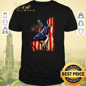 Official Fox Racing Mountain Bike Your Name American Flag shirt sweater