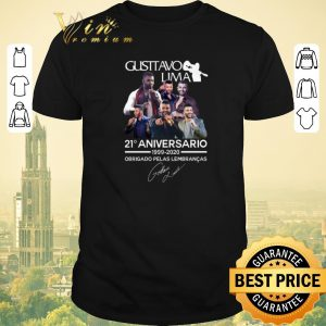 Official Gusttavo Lima 21 aniversario 1999 2020 Obrigado Pelas Lembrancas shirt sweater